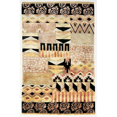 Hayles Multi-Color Tribal Rug Rug Size: 53 x 83