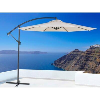 Image of 10' Hiebert Side Post Cantilever Umbrella Fabric: Beige