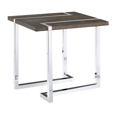 Aubuchon Rectangle End Table