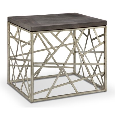 Hiers Rectangular End Table