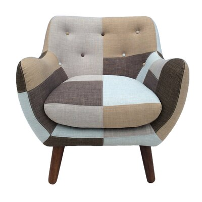 Hills Patchwork Arm Chair