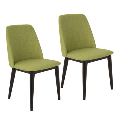 Eris Parsons Chair Finish: Green