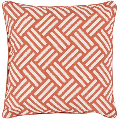 Moyers Outdoor Throw Pillow Size: 16 H x 16 W x 4 D, Color: Rust