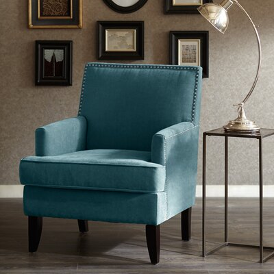 Maultsby Armchair Upholstery: Blue