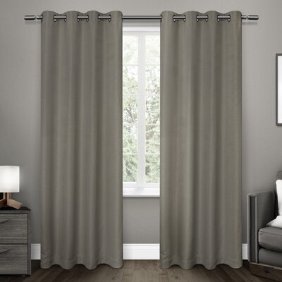 Brayden Studio Luedtke Blackout Thermal Curtain Panels