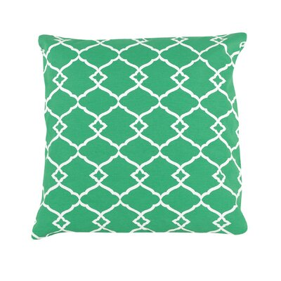 Peltz Geometric 100% Cotton Throw Pillow