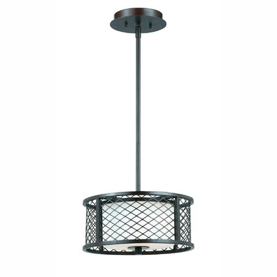 Penwell 2-Light Drum Pendant