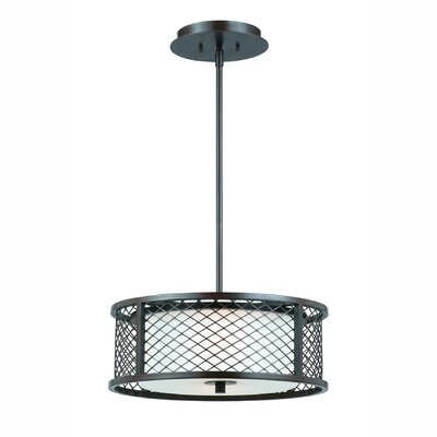 Penwell 3-Light Drum Pendant