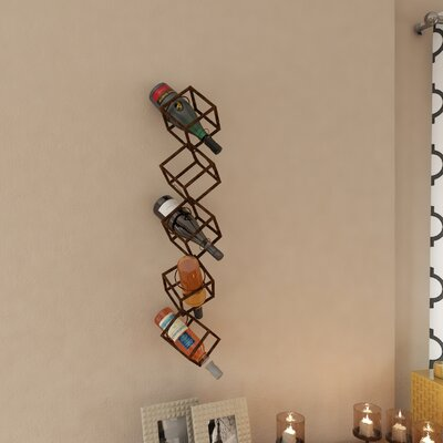 Sikorski 5 Bottle Tabletop Wine Rack