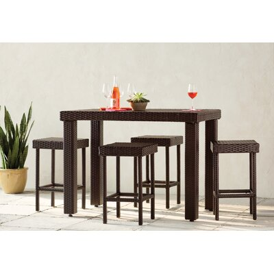 Crosson 5 Piece Bar Set