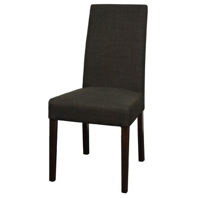 Torkelson Fabric Side Chair Color: Charcoal