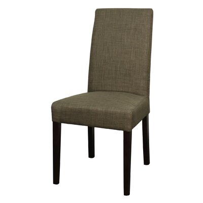 Perin Fabric Side Chair Color: Toffee