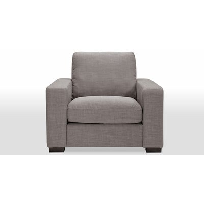 Perino Armchair Color: Gray Tweed