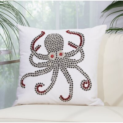 Octopus Outdoor Throw Pillow