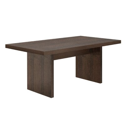 Durkee Dining Table Finish: Brown