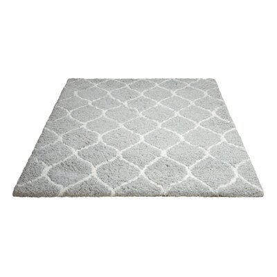 North Moore Hand-Tufted Mint Area Rug Rug Size: Rectangle 76 x 96