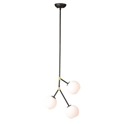 Doolin 3-Light Sputnik Chandelier