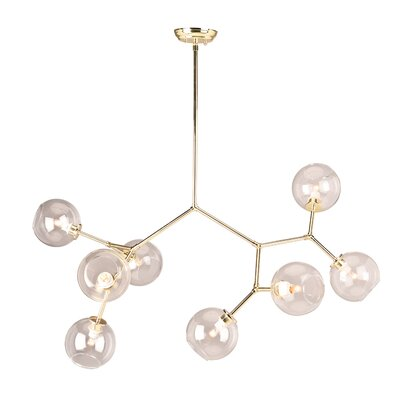 Gaius 8-Light Sputnik Chandelier