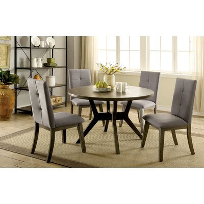 Brayden Studio Pelkey 5 Piece Dining Set