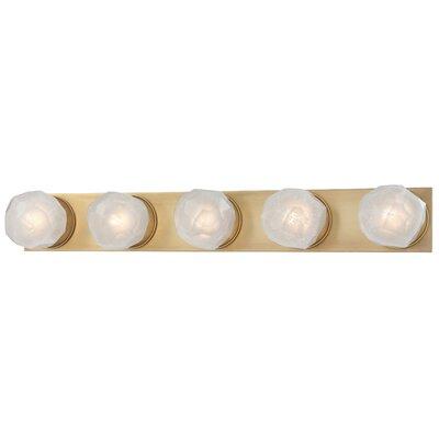 Brayden Studio Prickett 5-Light LED Bath Bar