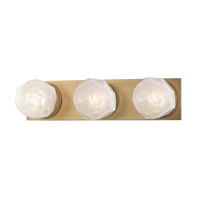 Brayden Studio Prickett 3-Light LED Bath Bar