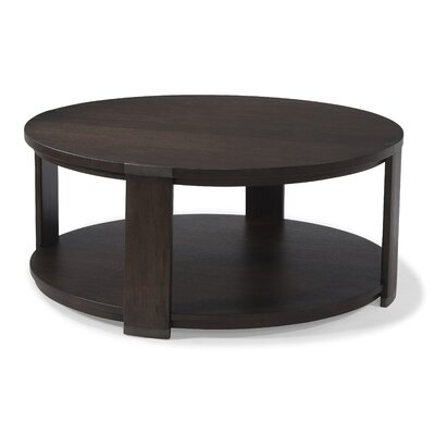 Destrey Coffee Table with Magazine Rack