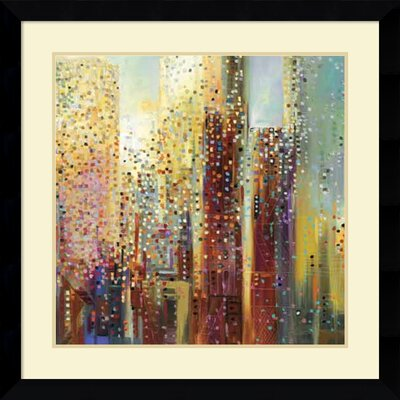 'City Daybreak' Framed Graphic Art Print