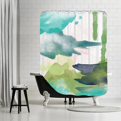 Amy Brinkman Abstract 6 01 Shower Curtain
