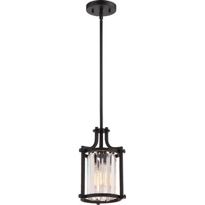Bunton 1-Light Mini Pendant Finish: Aged Bronze
