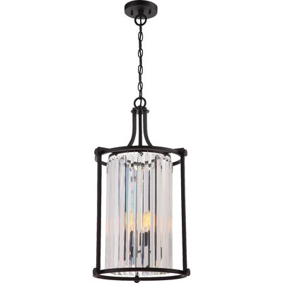 Bunton 4-Light Foyer Pendant Finish: Aged Bronze