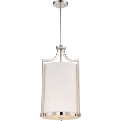 Bullen 3-Light Foyer Pendant Finish: Polished Nickel