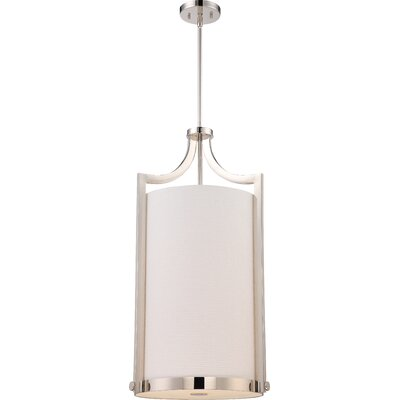Bullen 4-Light Foyert Pendant Finish: Polished Nickel