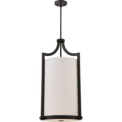 Bullen 4-Light Foyert Pendant Finish: Russet Bronze