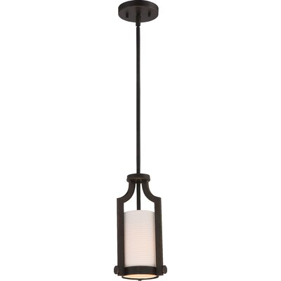 Bullen 1-Light Mini Pendant Finish: Russet Bronze