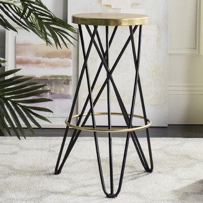 Buell 30 Bar Stool Finish: Black
