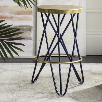 Buell 24 Bar Stool Finish: Navy