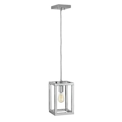 Reiber 1-Light Foyer Pendant Finish: Polished Nickel
