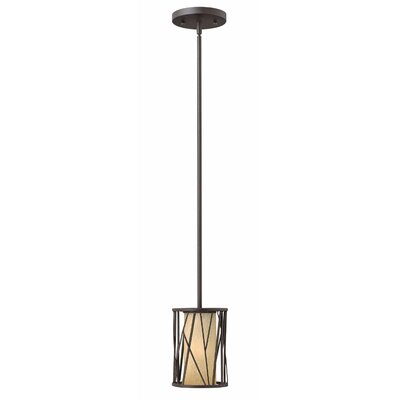 Nest 1-Light Mini Pendant Size: 8.5 H x 6 W x 6 D