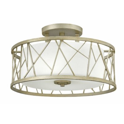Rehberg 3-Light Semi Flush Mount