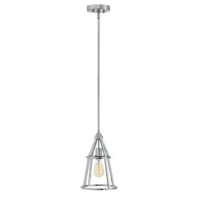 Balbuena 1-Light Mini Pendant Finish: Polished Nickel
