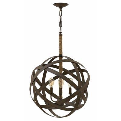 Proto 3-Light Globe Pendant