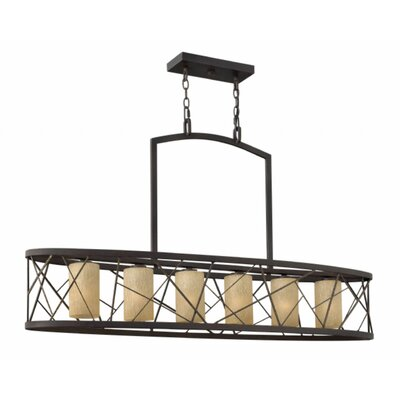 Nest 6-Light Kitchen Island Pendant