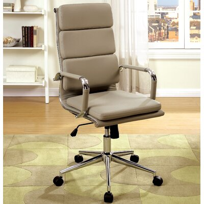 Executive Chair Upholstery Color: Mocha