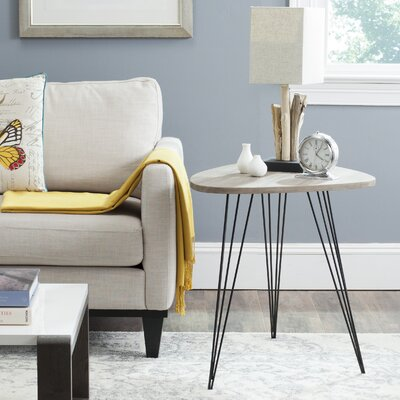 Motta End Table Color: Grey