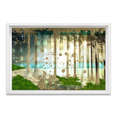 Live Fantasia Moss Framed Graphic Art