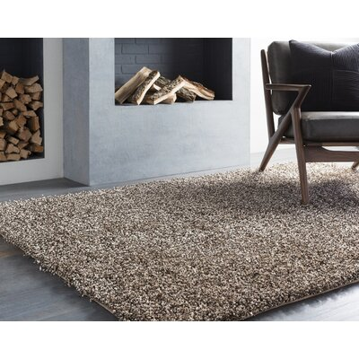Mchaney Hand-Tufted Beige Area Rug Rug Size: Square 9