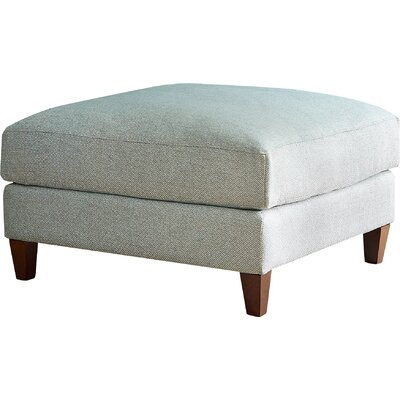 Colton Ottoman Fabric: Empire Steel