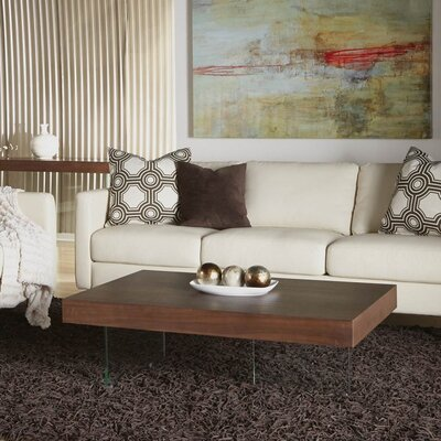 Saldivar Coffee Table Finish: Medium Walnut
