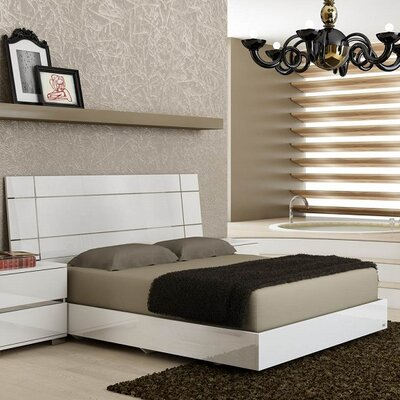 Salerno Panel Bed Size: King