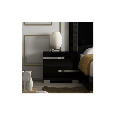 Salerno 2 Drawer Nightstand